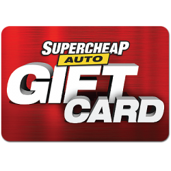 SuperCheap Auto Instant Gift Card - $250